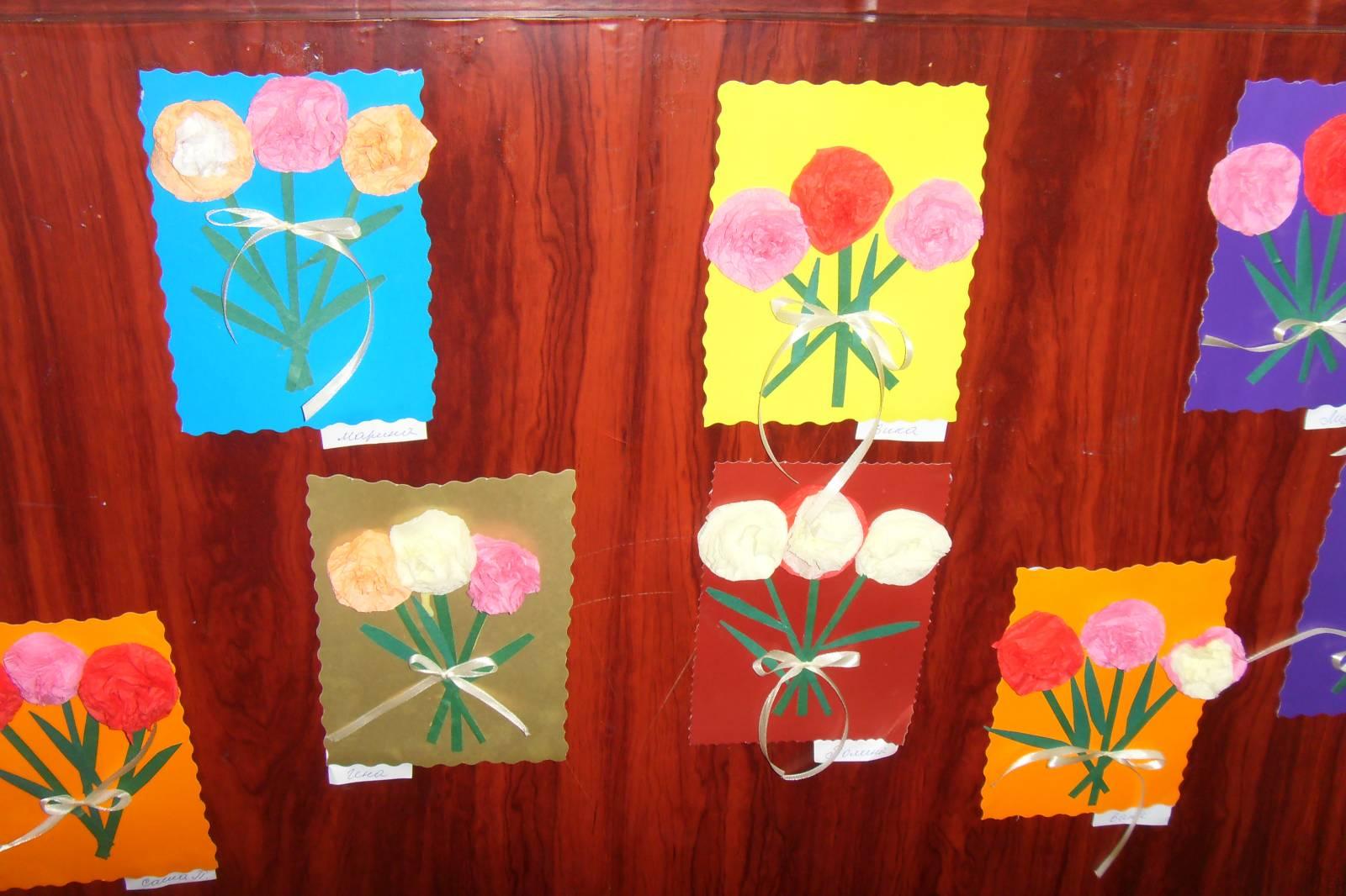 Поделки на День матери своими руками из цветной бумаги и 24